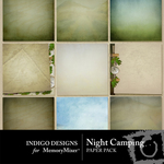 Night Camping Paper Pack-$2.00 (Indigo Designs)