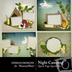 Night Camping Quick Page QuickMix-$3.49 (Indigo Designs)