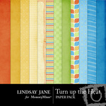 Turn up the Heat Paper Pack-$2.00 (Lindsay Jane)