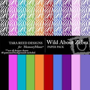 Wild about zebra pp medium