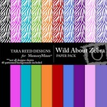 Wild About Zebra Paper Pack-$3.99 (Tara Reed Designs)