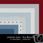 Sea Breeze Embossed Paper Pack-$1.25 (Lindsay Jane)