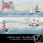Sea Breeze Border Pack-$1.99 (Lindsay Jane)