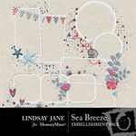 Sea Breeze Frame Pack-$1.99 (Lindsay Jane)