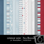 Sea Breeze Paper Pack-$3.99 (Lindsay Jane)
