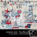 Sea Breeze Embellishment Pack-$3.49 (Lindsay Jane)