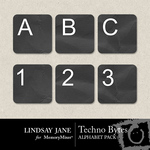 Techno Bytes Alphabet Pack-$0.99 (Lindsay Jane)