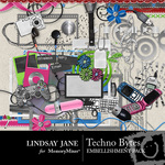 Techno Bytes Embellishment Pack-$3.49 (Lindsay Jane)