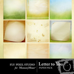 Letter to You Paper Pack-$3.99 (Fly Pixel Studio)