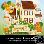 Letter to You Embellishment Pack-$2.99 (Fly Pixel Studio)