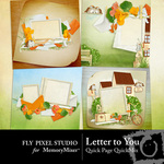 Letter to You Quick Page QuickMix-$3.49 (Fly Pixel Studio)