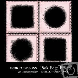Pink edge effects medium