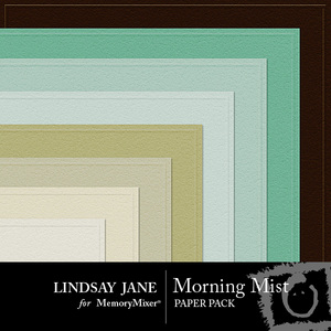 Morning mist embossed pp medium
