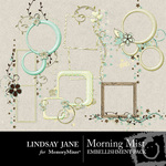 Morning Mist Frame Pack-$1.99 (Lindsay Jane)