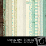 Morning Mist Paper Pack-$3.99 (Lindsay Jane)