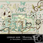 Morning Mist Embellishment Pack-$3.99 (Lindsay Jane)