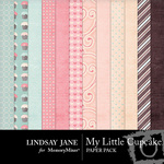 My Little Cupcake Paper Pack-$3.99 (Lindsay Jane)