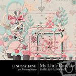 My Little Cupcake Embellishment Pack-$3.99 (Lindsay Jane)