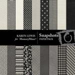 Snapshots Paper Pack-$2.99 (Karen Lewis)