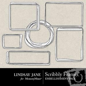 Scribbly frames prev 1 medium
