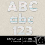 Art 101 Alphabet Pack-$0.99 (Lindsay Jane)