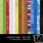 Art 101 Paper Pack-$3.99 (Lindsay Jane)