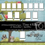 Time 4 Family QuickMix-$5.49 (Fayette Designs)