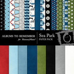 Sea Park Paper Pack-$3.99 (Albums to Remember)