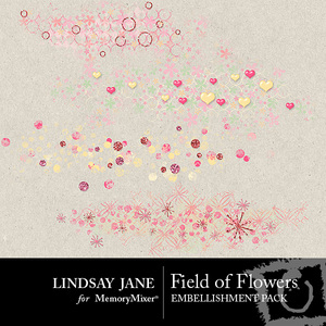Field of flowers scatterz medium