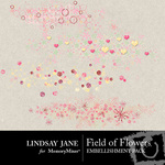 Field of Flowers Scatterz-$1.99 (Lindsay Jane)