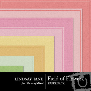 Field of flowers embossed pp prev 1 medium