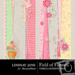 Field of flowers borders small