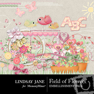 Field of flowers emb medium
