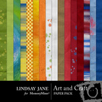 Art and Craft Paper Pack-$3.99 (Lindsay Jane)
