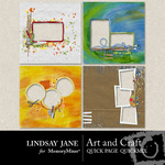 Art and Craft Quick Page QuickMix-$3.49 (Lindsay Jane)