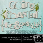 Going Coastal Alphabet Pack-$1.49 (Ettes and Company by Fayette)