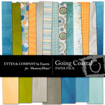 Going Coastal Paper Pack-$3.99 (Ettes and Company by Fayette)