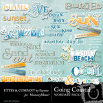 Going Coastal WordArt Pack-$1.99 (Ettes and Company by Fayette)