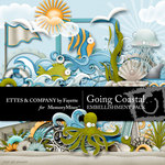 Going Coastal Embellishment Pack-$1.75 (Fayette Designs)