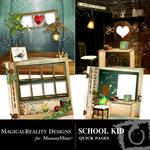 School Kid Quick Page QuickMix-$3.99 (MagicalReality Designs)