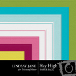 Sky High Embossed Paper Pack-$2.49 (Lindsay Jane)