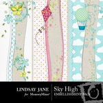 Sky High Border Pack-$1.50 (Lindsay Jane)