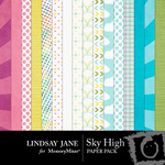 Sky High Paper Pack-$2.00 (Lindsay Jane)