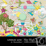 Sky High Embellishment Pack-$4.00 (Lindsay Jane)