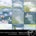 Dream a Little Dream Dark Paper Pack-$3.99 (MagicalReality Designs)