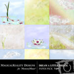 Dream a Little Dream Light Paper Pack-$3.99 (MagicalReality Designs)