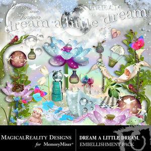 Dream a little dream emb medium