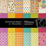 Whimsy Paper Pack-$3.99 (Designs by Krista)