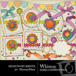Whimsy Embellishment Pack-$2.99 (Designs by Krista)