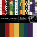 Birthday ATR Paper Pack-$3.99 (Albums to Remember)